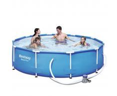 Bestway Conjunto de piscina Sirocco redondo azul 305 cm 56408