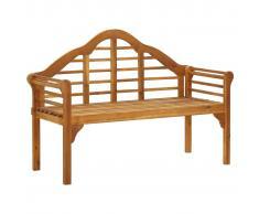 vidaXL Banco de jardín 135 cm madera de acacia maciza