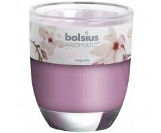 Bolsius Velas perfumadas Magnolia rosa 6 unidades 103626150304