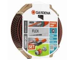 GARDENA Set manguera de jardín Comfort FLEX 6 uds 13 mm 20 m 18034-20