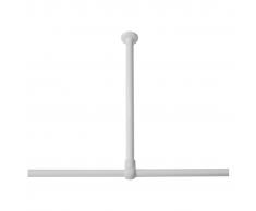 Sealskin Soporte blanco para barra de ducha, Seallux, 60 cm 276668610