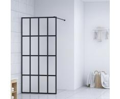vidaXL Mampara de ducha accesible vidrio templado 100x195 cm