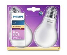 Philips Bombillas LED 2 unidades Classic 7 W 806 lúmenes 929001243031