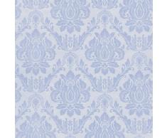 DUTCH WALLCOVERINGS Papel de pared barroco azul 02508-40