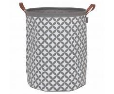 Sealskin Cesto para la ropa sucia Diamonds gris 60 L 362302012