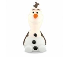 Philips Lámpara portátil Disney Olaf SoftPal blanca 717680816
