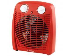 Bestron Calefactor de ventilador 2000 W rojo AFH211R
