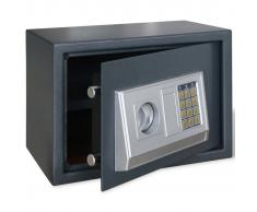 vidaXL Caja fuerte electrónica digital con estante interior 35 x 25 x 25 cm