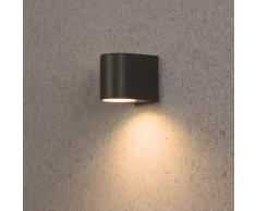 Ranex SMARTWARES Lámpara de pared LED 3 W gris 5000.332