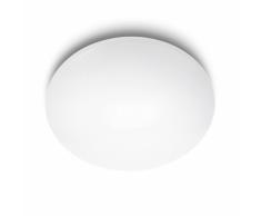 Philips Lámpara de techo LED myLiving Suede blanca 4x5 W 318013116