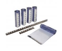 Kerbl Set de cortina de tiras de PVC 225x30 cm 291162