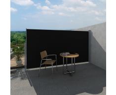 vidaXL Toldo lateral de jardín o terraza 180 x 300 cm negro