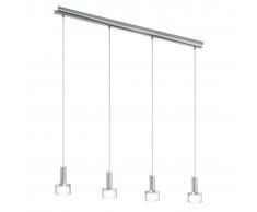 EGLO Lámpara colgante de techo, LED Fabiana 1 4L 93929