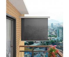 vidaXL Toldo lateral de balcón multifuncional 150x200 cm gris