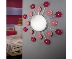 EGLO Lámpara de pared/techo VIKI 1 rosa 92147
