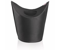 Leifheit Cesto para la ropa 60x35x80 cm negro 80021