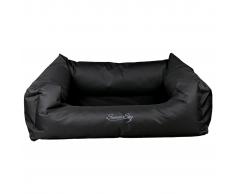 TRIXIE Cama para perro Samoa Sky polyester negra 80x65 cm B28371