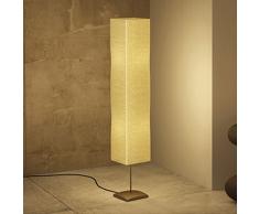 vidaXL Lámpara de pie acero, 135 cm