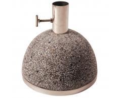 Esschert Design Esschert Desig Soporte de sombrilla 11,5 kg 25x25x24 cm gris PV11