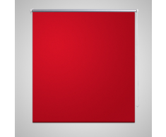 vidaXL Estor Persiana Enrollable 80 x 230 cm Rojo