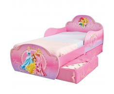Disney Cama infantil cajones Princess 142x59x77 cm Deluxe WORL660016