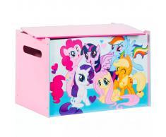 My Little Pony Caja de madera de juguete 60x40x40 cm rosa WORL920001