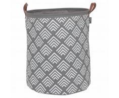Sealskin Cesto para la ropa sucia Angoli gris 60 L 362292012