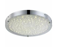 GLOBO Lámpara LED de techo MAXIME vidrio 49213