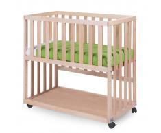 CHILDWOOD Cuna para el lado de cama 50x90 cm haya natural BSCNNA
