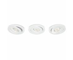 Philips myLiving Focos empotrables Smartspot Asterope 3x4,5W 591833116