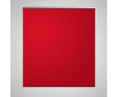 vidaXL Estor Persiana Enrollable 80 x 175cm Rojo