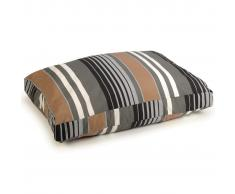 Beeztees Cama para perro Lucky Stripe marrón 100x70 cm 706574