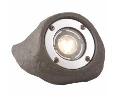 Garden Lights Foco de luz LED Lapis gris poliresina 3577441
