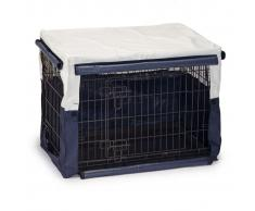 Beeztees Cubierta para jaula de perro Benco 89x60x66 cm azul 715957