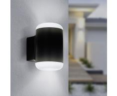 EGLO Lámpara LED de pared para jardín Merlito gris antracita