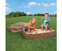 Step2 Cajón de arena para niños Play & Store 830200