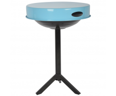 Esschert Design Mesa para barbacoa Acero de carbono azul FF251