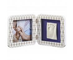 Baby Art Marco doble para foto y huella My Baby Touch blanco 3601092400