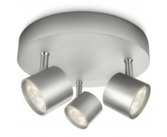 Philips myLiving Focos LED Star 3x4,5 W gris 562434816