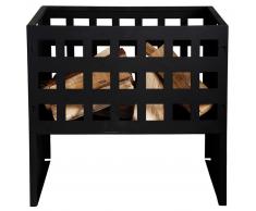 Esschert Design Fuente de fuego rectangular, marca FF88
