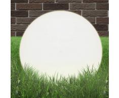 vidaXL Lámpara de bola LED esférica 50 cm PMMA