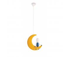 Philips Lunardo lámpara de techo infantil amarilla 14W 230V