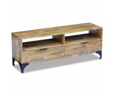 vidaXL Mueble para TV madera de mango 120x35x45 cm