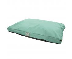 Overseas Cama para perro 110x70x10 cm verde menta