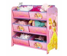 Disney Caja de almacenamiento Princesas 64x30x60 cm rosa OPBE660100