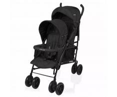 Little World Silla de paseo gemelar Twing color negro LWST002-BK