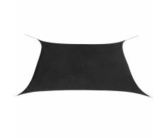 vidaXL Toldo de vela cuadrado tela Oxford 3,6x3,6 m gris antracita