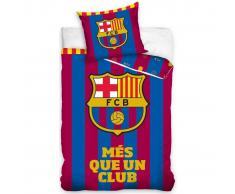 FC Barcelona Set de funda de edredón infantil 200x140 cm DEKB180820