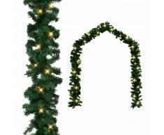 vidaXL Guirnalda de navidad con luces LED 10 m