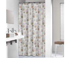 Sealskin cortina de ducha 180 cm modelo búho 210871365 (Arena)